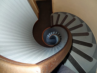 lighthouse-winding-steps | by quirkytravelguy