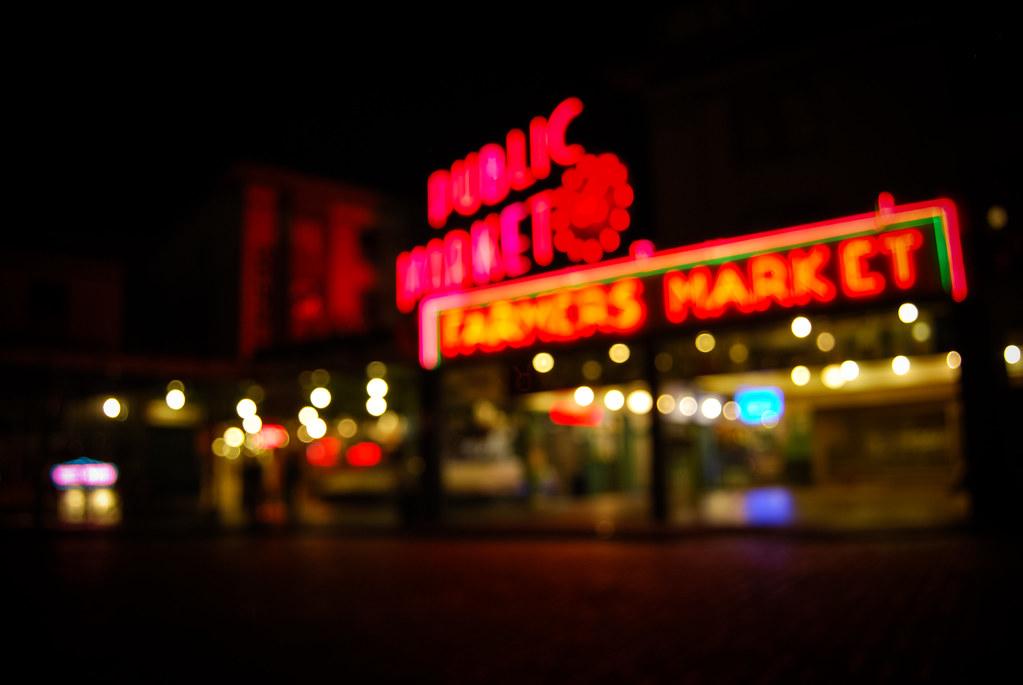 Pike Place Blur