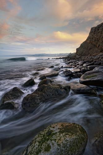 ocean sea cliff seascape nature water rocks surf pacific sandiego tide wave lajolla boulders skyclouds coastwalk