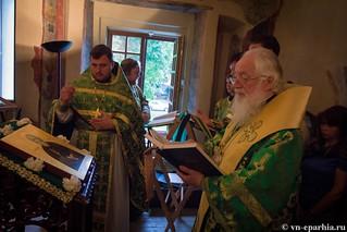 Литургия в храме Сергия Радонежского 220