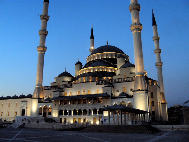 Kocatepe Camii by bryandkeith on flickr