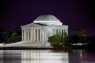 Jefferson Memoral by electric candle light  HDR | by DigitalDoug - 攝影