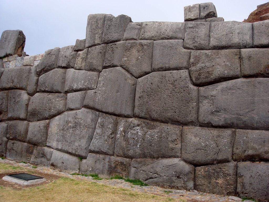 DSC00240 Ancient stone wall, Sacsayhuaman