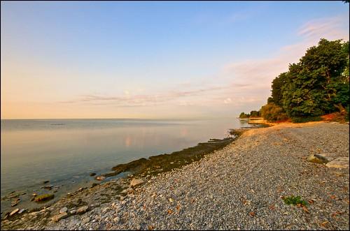 ontario sunrise lakeshore lakeontario hdr cobourg tonemapped