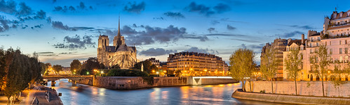 our paris france seine architecture lady river de view cathedral dusk gothic panoramic notre dame panoramicviewofnotredamecathedral iledelacitéandseineriveratduskinparis iledelacitéand