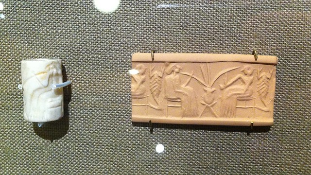 Mesopotamian cylinder seal (OI)