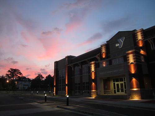 sky clouds sunrise dawn ymca spartanburg
