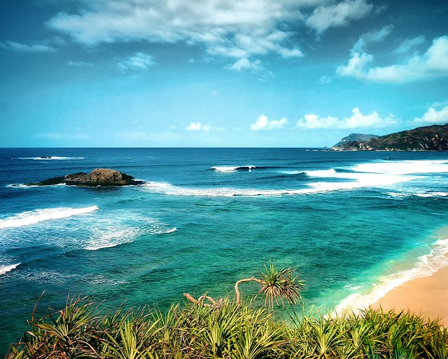 A Piece of Kuta Beach - Lombok