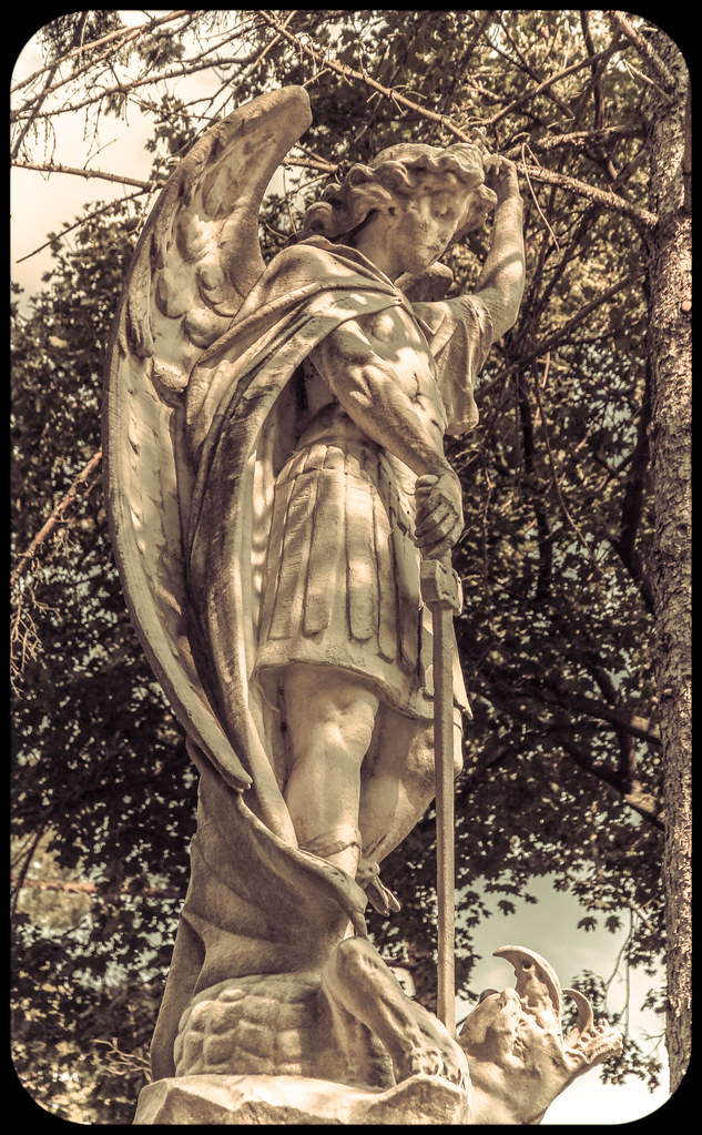 St  Michael the Archangel - Prayer Card Type   D  Erin   Flickr