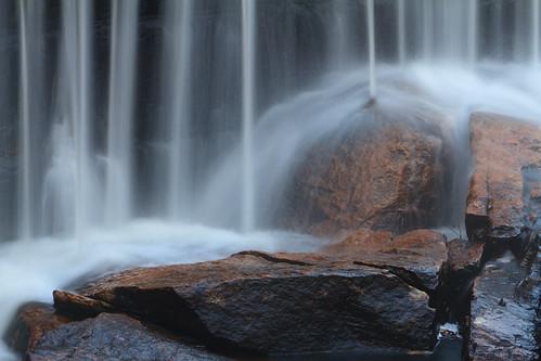 water sunrise waterfall rocks stones rhodeisland cottoncandy scituate ponagansetfalls