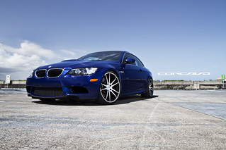 "BMW E93 on 20"" CW-S5 Matte Black Machined Face 