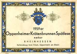 1959 - Oppenheimer Krötenbrunnen (Rhine)