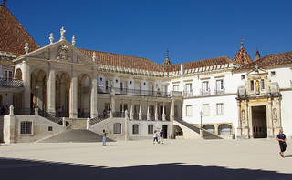Courtyard of the University of Coimbra   by Debarshi Ray