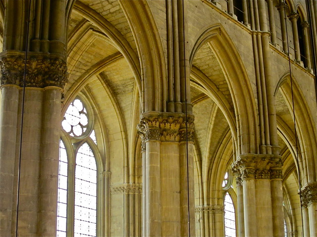 Cathedral detail - Reims, France