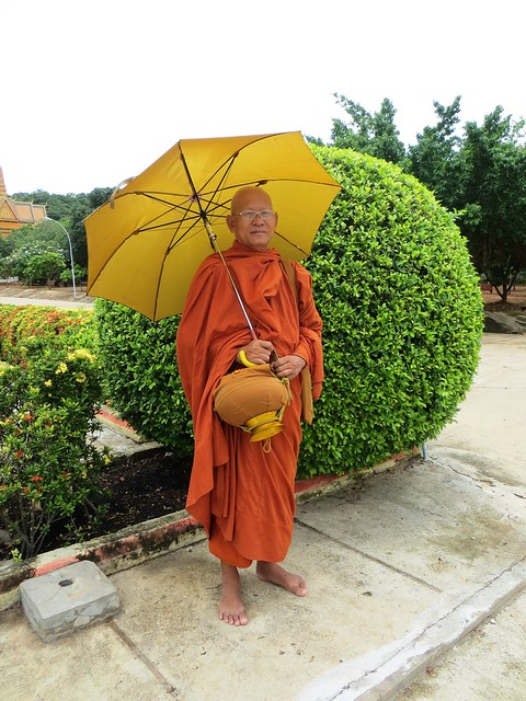 Monk. Cambodia.