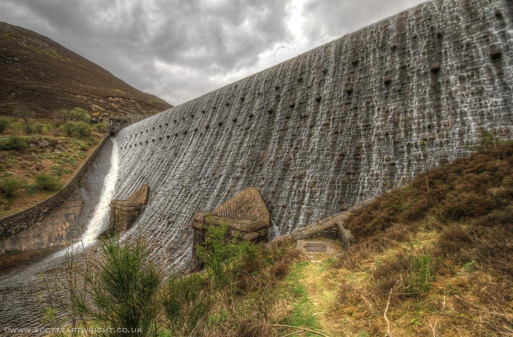 Elan Valley Dam HDR