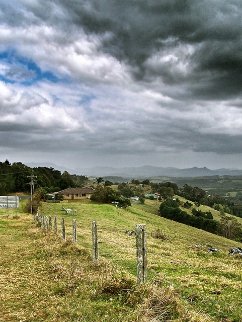 looking to the Border ranges