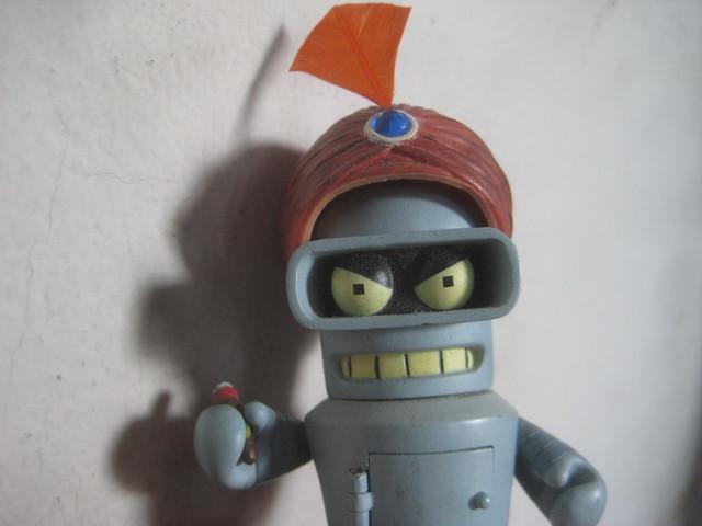 Bender wearing a Swamy Turban 9464