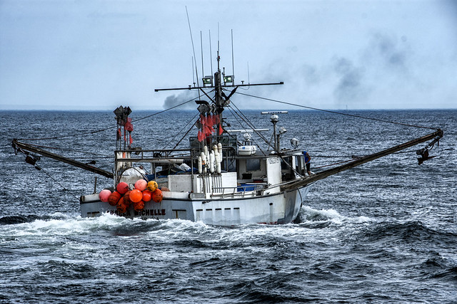 Fishing Boat--Outbound