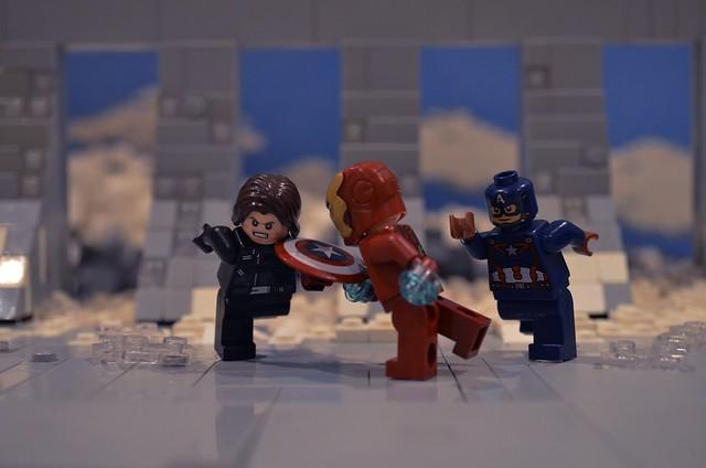 Captain America Civil War- Final Fight