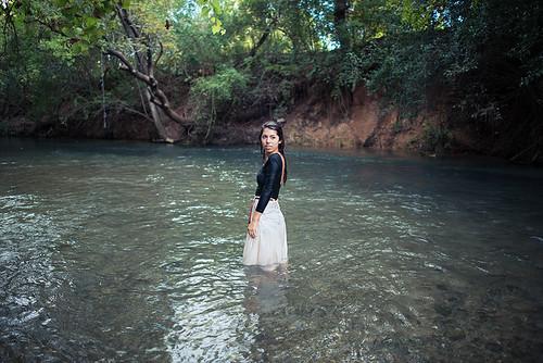autumn portrait fall nature water girl beautiful fashion lady digital river nikon colorful soft texas outdoor sanmarcos d800 txstate