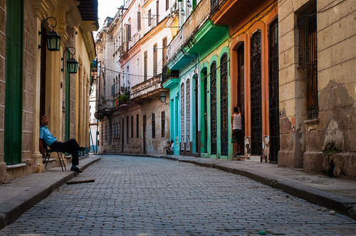 The cobbled streets and colorfully painted houses of Old Havana | by thaths