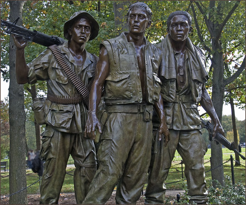'The Three Soldiers' -- Vietnam War Memorial Washington (DC) 2012 | by Ron Cogswell