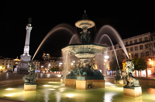 LISBON . Praça do Rossio | by PortoBay Trade