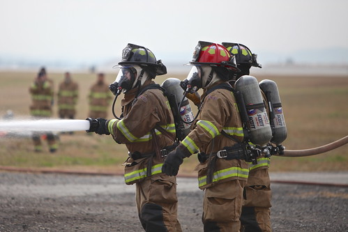 Camp Humphreys firefighters 'turn up the heat' with live fire training in Korea - 121023 | by USAG-Humphreys
