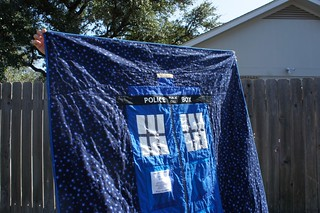 Tardis - close up of quilting | by sacridote
