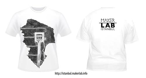 Maker Lab Istanbul 2012 T-Shirt