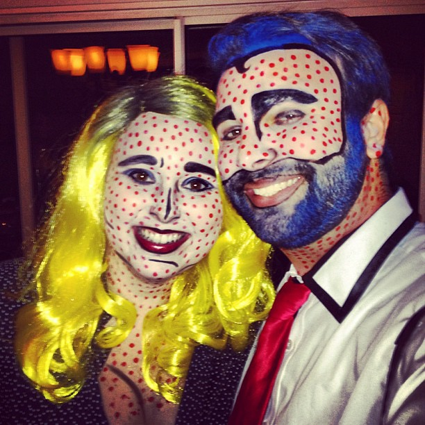 Roy Lichtenstein Halloween Costume.Roy Lichtenstein This One S For You Popart Halloween C