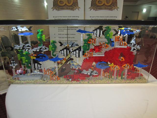 LEGO Fish Tank.