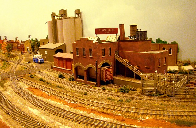 The Fever River HO. Model Railroad  in Freeport ILL.