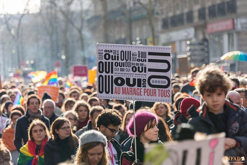 La contre-offensive LGBT – Manifestation du 27 janvier 2013