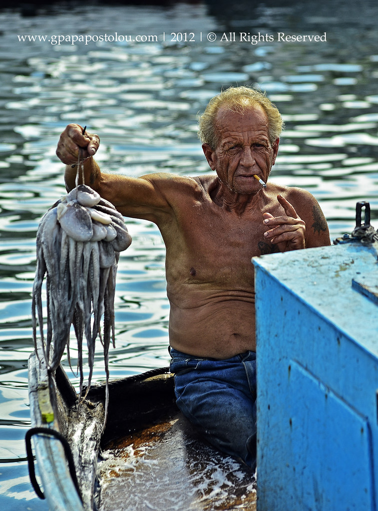 The Fisherman With Octopus Explore Www Gpapapostolou Com