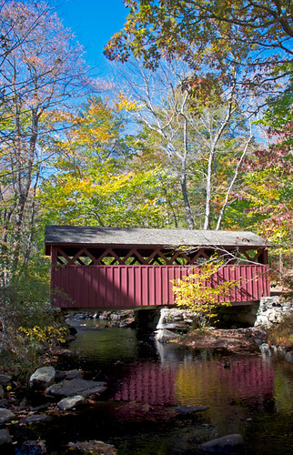 statepark park old bridge blue autumn red usa lake building green fall cars water yellow barn river catchycolors landscape outside boat photo leaf interesting nikon flickr exterior waterfront image shots outdoor hiking connecticut country shoreline picture newengland engineering ct places foliage coveredbridge historical scenes gundersen conn killingworth nikoncamera chatfieldhollow cockaponset d5000 cockaponsetstateforest connecticutscenes nikond5000 cockaponsetstatepark bobgundersen robertgundersen