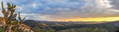 sunset cactus sky panorama mountain photoshop table bush nikon top pano australia panoramic adobe qld queensland outback nikkor fires cs6 18105mm d5100