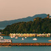 Train Spotting - Orakei Basin with Boat Sheds by kiwigran