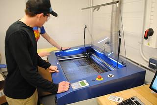 laser cutting | by Thayer School Machine Shop