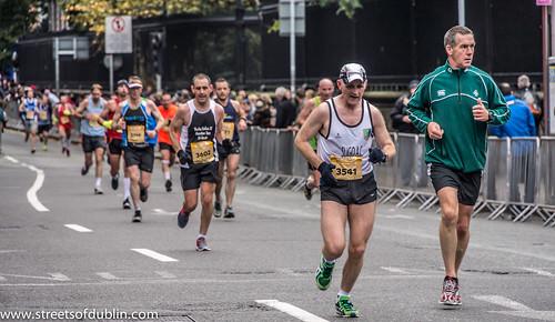 Dublin Marathon 2012 - Near The Finish Line: Runner 4602 and 3541 | by infomatique