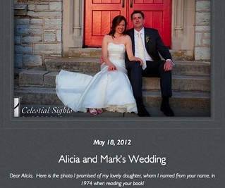 Lucinda's daughter Alicia's wedding photo.jpg | by indigowithstars
