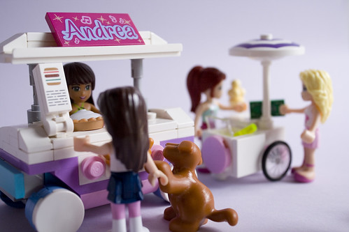 Sandwich and ice cream carts   by IcedPlusCoffee