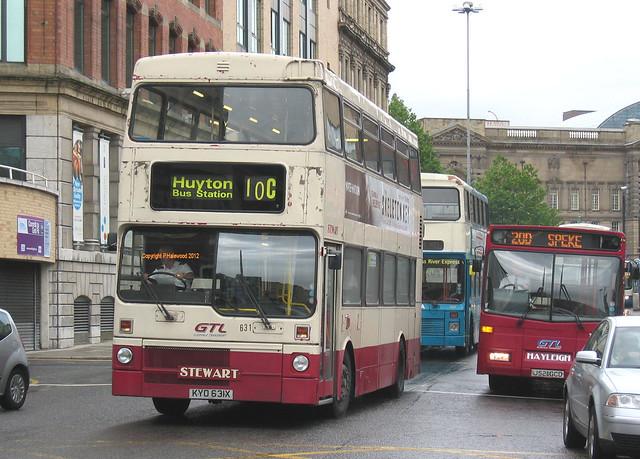 Stagecoach Merseyside KYO631X