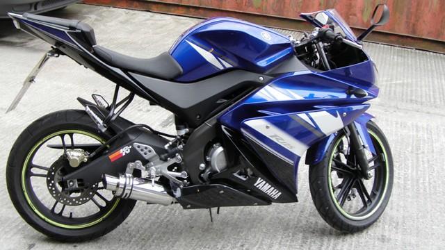 MTC Motorbike Exhausts Yamaha R125