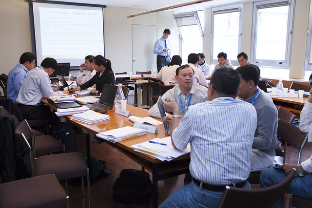 Cambodian participants at IIEP from 4 February