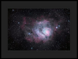 The Lagoon Nebula ( Messier 8, NGC 6523 ) in Sagittarius - by Mike O'Day ( https://500px.com/mikeoday ) | by Mike O'Day