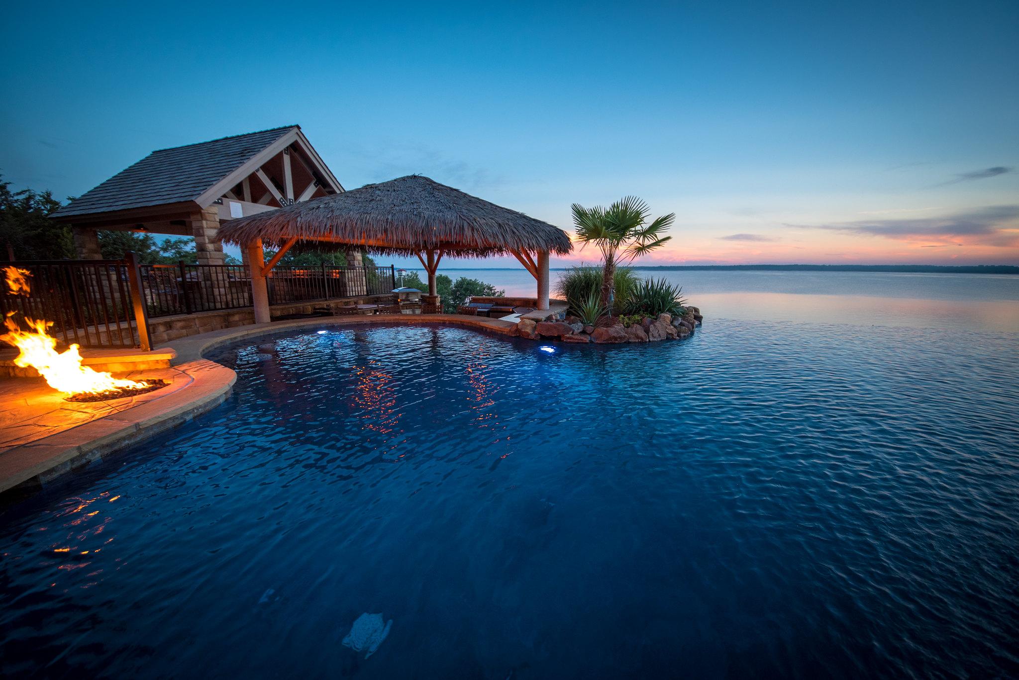 Palapa Bar – Allison Landscpe & Pool Company