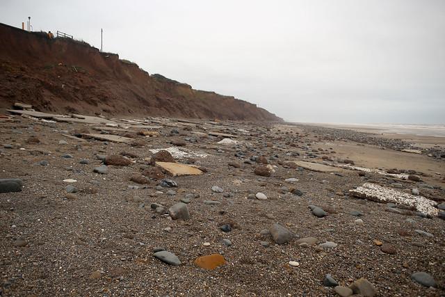 The beach at Tunstall
