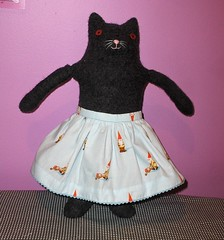 friend Kitty Doll, Mimi Kirchner pattern - Gnome Skirt